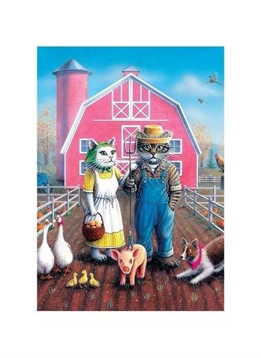 Art Puzzle Art Puzzle Kedi Çiftliği 260 Parça Kutu Puzzle  Renksiz